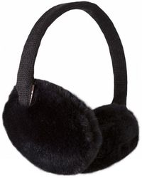 Barts Plush Earmuffs - Black