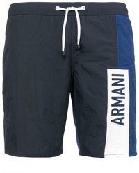 Armani Exchange Armani Swim Shorts - Blue