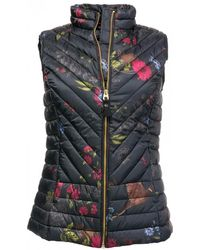 Joules - Brindley Printed Upfill Womens Gilet (z) - Lyst