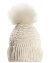 Woolrich Soft Wool Beanie Hat - Blue