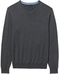 Crew - Foxley Mens V Neck Jumper (aw16) - Lyst