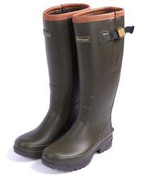 Barbour Tempest Wellington Boots - Green