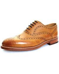 Oliver Sweeney Aldeburgh Brogue Shoes Brown