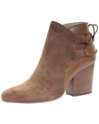 H by Hudson Minka Suede Womens Boot - Brown