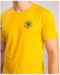 Fjallraven 1960 Logo T-shirt M - Yellow