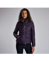 Barbour Dual Quilted Womens Jacket - Blue