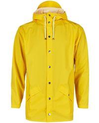 Rains Yellow Waterproof Jacket