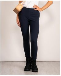 Joules Pull On Stretch Trousers - Blue