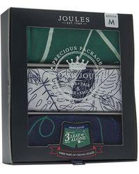 Joules - Crown Mens 3 Pack Underwear S/s - Lyst