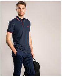 BOSS Athleisure Athleisure Paddy Pro Polo Shirt - Blue
