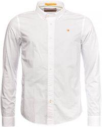 Scotch & Soda Classic Crispy Shirt - White