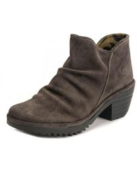 Fly London Willow Line Shoe - Brown