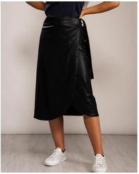 Armani Exchange Gonna Skirt - Black