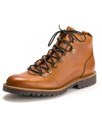 Barker Glencoe Mens Shoe - Brown