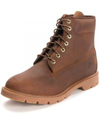 Timberland 6 Inch Basic Boot - Brown