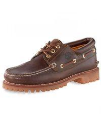 Timberland 3 Eye Classic Lug Shoe - Brown