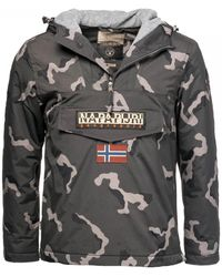 Napapijri - Rainforest Camou Fantasy 1 Mens Jacket - Lyst