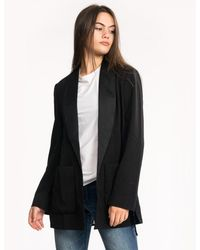 French Connection Ines Suiting Ls Jacket - Black