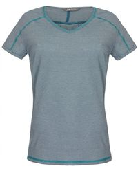 The North Face Dayspring Short Sleeve Ladies Tee - Blue