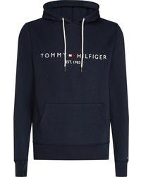 Tommy Hilfiger Tommy Logo Hoodie - Blue