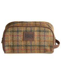 Barbour - Tweed Wash Bag - Lyst