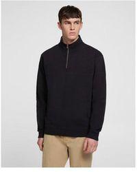 Woolrich American Half Zip Sweatershirt - Black
