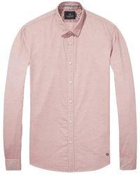 Scotch & Soda Classic Oxford Shirt - Pink