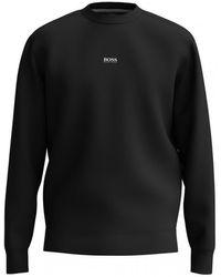 BOSS by HUGO BOSS Weevo2 Sweatshirt , Title: 001 - Black