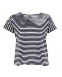 Thought - Marystow Stripe Hemp Womens Jersey Tee - Lyst