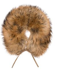 Woolrich - Fur Ladies Ring Scarf - Lyst
