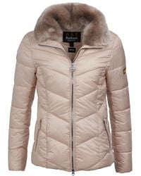 Barbour Nurburg Quilted Womens Jacket - Multicolour