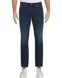 Tommy Hilfiger Core Straight Denton Jeans - Blue