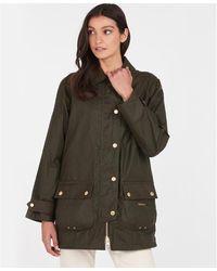 Barbour Winslet Wax Jacket - Green