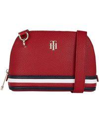 Tommy Hilfiger Th Element Crossover Logo Bag - Red