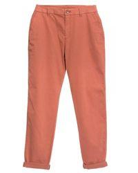 BOSS Sachini2-d Womens Trousers - Red