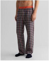 GANT Check Pyjama Pants - Multicolour