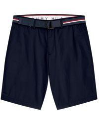 Tommy Hilfiger Brooklyn Ligh Twill Shorts - Blue