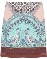 White Stuff - Porto Print Woven Womens Skirt - Lyst