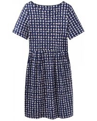 Joules - Beth Slub Jersey Womens Dress (x) - Lyst