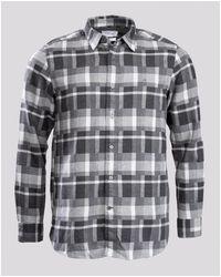 Calvin Klein Flannel Check Shirt - Grey