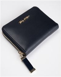 Tommy Hilfiger Iconic Tommy Med Zip Purse - Black