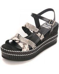 Kanna Grisel Sandals - Black