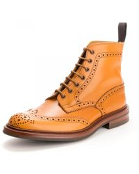 Tricker's Mens Stow Boot - Brown