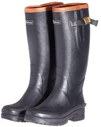 Barbour Tempest Wellington Boots - Black