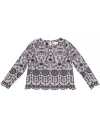 Thought Isabella Top - Grey