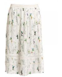 Ted Baker Fortune Pleated Midi Skirt - White