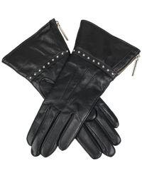 Dents Monica Faux Sherling Ladies Glove - Black