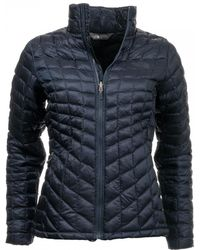 The North Face Thermoball Zip Womens Jacket - Blue