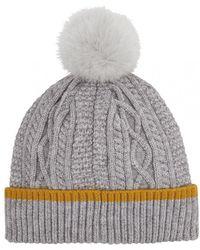 733733f8341 Joules - Anya Womens Bobble Hat S s - Lyst