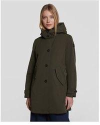 Woolrich Charlotte Coat - Green